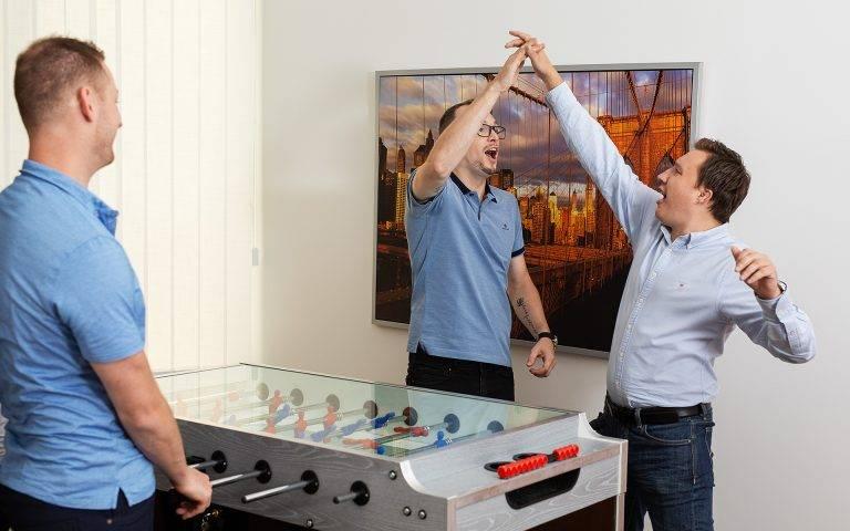 Zábava - stolní fotbalek | Netpromotion