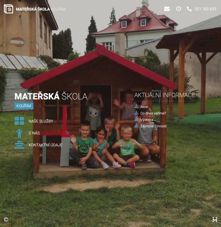 Tvorba webu Smart pro Mateřská školka - Kouřim | Netpromotion